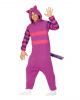 Gigantic Cuddly Cat Costume Jumpsuit Purple