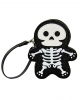 Glitter Skeleton Clutch Vinyl