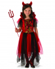 Glitter Sequins Devil Child Costume