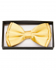 Golden Satin Bow Tie Deluxe