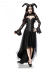 Gothic Demon Lady Costume With Horns