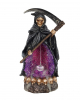 Grim Reaper Backflow Incense Cone Holder With Light