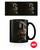 Grim Reaper With Middle Finger Mug With Thermo Effect