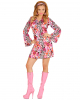 Groovy Disco Girl Minidress