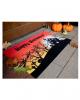 Halloween Fußabstreifer mit Geisterhaus Motiv
