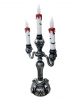Halloween Candlestick With LED Candles
