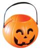 Halloween Kürbis Eimerchen mit Griff 11cm