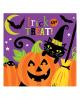 Halloween Servietten mit Hexenmotiv 16 St.