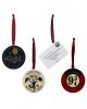 Harry Potter Porcelain Ornaments 4er Set