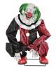 Hockender Horror Clown Animatronic mit Bewegung