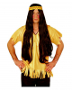 Indian Wig With Hairband Brown