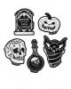 Feeling Spooky Stickers 5 St. KILLSTAR