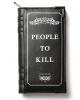 Kill List Buch Geldbeutel KILLSTAR