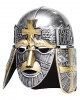 Crusader Helmet silver