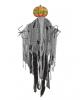 Spooky Kürbisgeist im Fetzenkleid mit LED