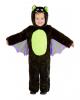 Flauschiger Fledermaus Onesie für Kinder
