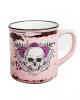 Lady Skull Skull Mug