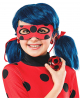 Ladybug JoJo And Clip Earrings For Girls