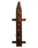 Orange LED Lichterkette 235cm