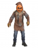 Bright Pumpkin Scarecrow Costume Set For Children