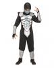 Leuchtendes Ninja Kämpfer Kostüm für Kinder