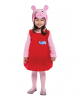 Peppa Pig Toddler Costume Dress Deluxe