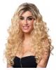 Blonde Locken Latina Perücke