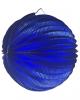 Ballon-Lampion blau metallic 25 cm