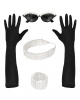 Miss Golightly Costume Accessories Set 4 Pcs
