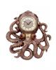 Octoclock Steampunk Oktopus Wanduhr