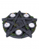 Occult Pentagram Tealight Holder