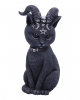 Occult Cat Figure With Goat Horns