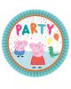 Peppa Pig Partyteller 23 cm 8 St.