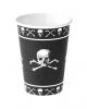 Piraten Totenschädel Becher
