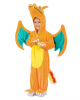 Pokemon Glurak Dragon Child Costume