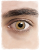 Realistic Brown Cosplay Contact Lenses