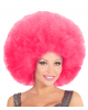 XL Afro Perücke Pink