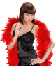 Red Feather Boa 180 Cm