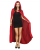 Red Hooded Cape Unisex