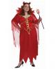 Rote Teufelin Kostüm XXXL