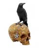 Salem Totenkopf mit Rabe