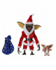 Santa Stripe & Gizmo Action Figures Set Of 2