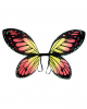 Butterfly Wings Black/orange Child Size