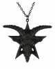 Black Gothic Baphomet Necklace