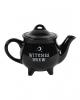 Schwarze Hexengebräu Teekanne