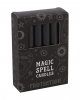"Black ""Protection"" Magic Candles 12 Pcs."