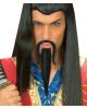 Genghis Khan beard black