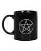 Black Pentagram Coffee Mug