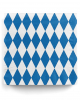 Napkins Bavaria with diamonds 20 pcs.
