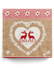 Napkins in love with deer 20 pc.
